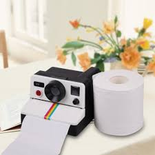 Polaroid Camera Design Tissue Box Us 14 55 32 Off 1pcs Creative 80s Style Cute Retro Camera Shape Inspired Toilet Paper Holder Toilet Roll Box Tissue Dispenser In Tissue Boxes From