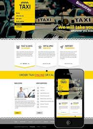professional webtemplate taxi service website template bootstrap website responsive