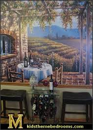 tuscany vineyard style decorating tuscan wall mural stickers tuscan themed kitchen accessories g
