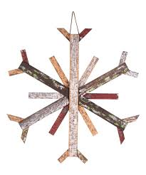 love this product large wood snowflake