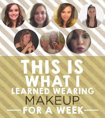 makeup what should you wear view this image think carefully about how