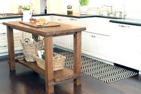 How To Make A Simple Kitchen Island S Reclimed Simple Kitchen Island