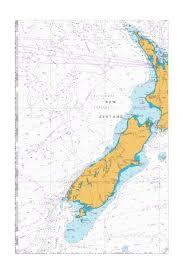 Sea Charts Nz Tasman Sea New Zealand To S E Australia Nu Marine Chart