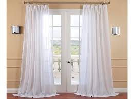 White Bedroom Curtains Luxury Bedroom Inspiring Home Interior Decoration  With Sheer Long White Curtains Of Glass