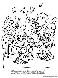 Muziek Piet Kleurplaat Contact Kleurplatenlcom