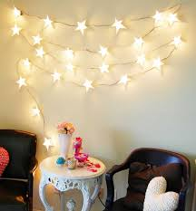 Awesome Star String Lights For Bedroom With Mesmerizing Hang Trends Pictures