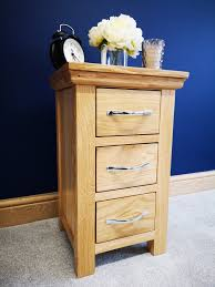 details about alberta light oak bedside table slim bedroom cabinet small narrow nightstand