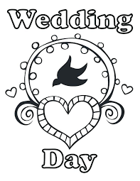 Coloring Pages Wedding Mortalityscoreinfo