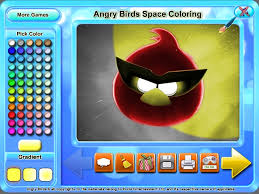 Small Picture Angry Birds Space Coloring Game Download for PC and Mac