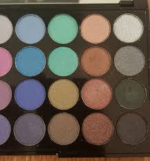 colors shades makeup cosmetics review swatches photos makeup revolution mermaids forever 32 piece
