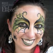 spider woman eyes spider womenspider girlface painting