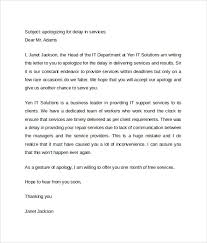 Apologize Business Letter Sample Letter Of Apology 9 Download Free Documents In Word Pdf