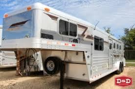 horse trailers d&d farm and ranch trailers seguin, texas 4 Star Trailer Wiring Diagram 2002 4 star 4h slant gn lq trailer 4 star horse trailer wiring diagram