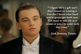Great Quote From The Titanic Movie TBH He's So Cute LOL Adorable Titanic Quotes