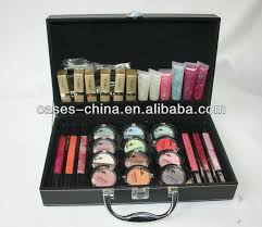 small makeup kit leather cosmetic beauty box