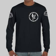 Los Angeles Apparel Size Chart Details About Los Angeles Police Lapd Swat S W A T Logo Long Sleeve Black T Shirt Usa Size