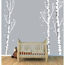 birch tree wall decals tree wall art with birch tree wall decals for kids rooms birch birch tree wall decals  on birch tree wall art canada with birch tree wall decals birch tree wall sticker living room forest