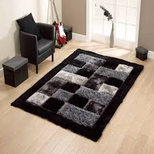 noble house jr 04 black rug by think rugs