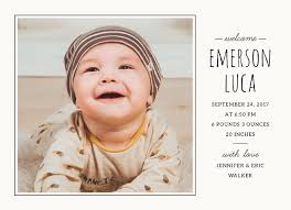 Baby Announcement Cards Cute Frames Baby Announcement Cards