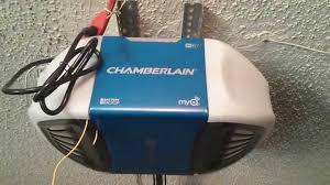 Chamberlain 1-1/4 HP Garage Door Opener Review - YouTube