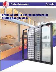 commercial sliding doors starlite aluminium