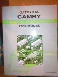 2007 toyota camry electrical wiring diagram service manual rx457 image is loading 2007 toyota camry electrical wiring diagram service manual