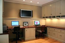 home office with two desks. Wonderful Home Two Person Desk Home Office For 2  And Home Office With Two Desks