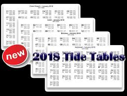 Tide Chart 2018 63 Abiding Tide Chart For New England