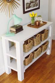white foyer table. Furniture Large-size Nice Grey Foyer Table With Shoe Rack On The Impressive Wooden Floor White D