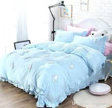 full image for pink twin xl duvet cover sky blue green pink 3 bedding sets princess