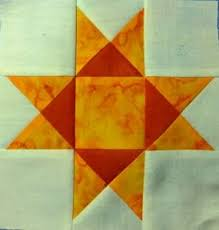 66 best Ohio Star Quilt Blocks and variations images on Pinterest ... & Ohio Star - free patchwork block » Arbee Designs blog Adamdwight.com