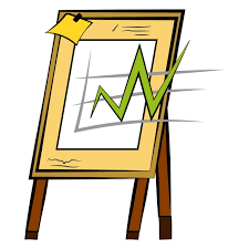Business Growth Chart Vector Or Color Illustration Graph