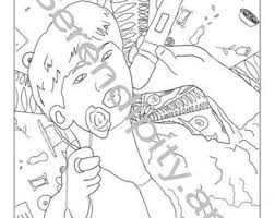 We have collected 40+ kpop coloring page images of various designs for you to color. Kpop Coloring Page Etsy