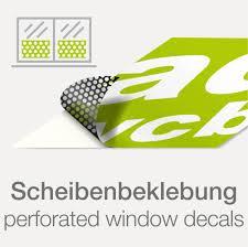 Fensteraufkleber Lochfolie Mit Druck Werbecenter Berlinde