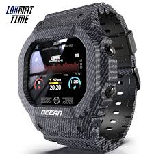 Lokmat Time Ocean Sports Smart Watch Women IP68 Waterproof Fitness Rugged  Outdoor Smartwatch Men for Smart Phone Dropshipping|Smart Watches