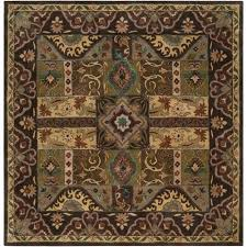 8 ft square rug dark brown square 8 ft x 8 ft rug 8 foot square