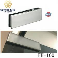 no digging floor hinge hydraulic patch fitting fh 100 for glass door