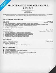Objectives to Put on a Maintenance Job Resume eHow