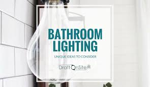 Custom bathroom lighting Farmhouse Unique Bathroom Lighting Ideas Autosvit Bathroom Design Modern Unique Bathroom Lighting Ideas For Your Custom Home Design