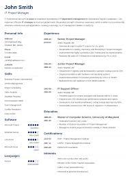 Resume Templats Resume Template Ideas
