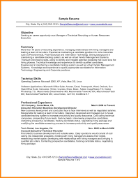 Summary Examples For Resume 100 objective summary example emails sample 30