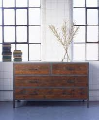 Industrial Style Bedroom Furniture Four Drawer Chest  Pinterest
