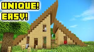 Here are 15+ gorgeus minecraft house designs that you can follow. Minecraft Survival House Tutorial Unique How To Build Youtube