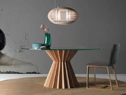 Tavoli Da Pranzo In Legno Design : Tavolo da pranzo rotondo in legno superstar linfa design