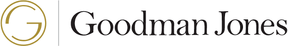 goodman logo. goodman jones accountants logo