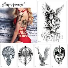 Glaryyears 1 List Dočasné Tetování Samolepky Cool Falešné Tetování