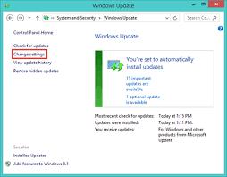 How To Update Windows 7 Configure How Windows Update Works In Windows 7 Windows 8 1
