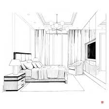 Bedroom Interior Design Drawing Pin By Martyna On Architectural Drawings Interior Design