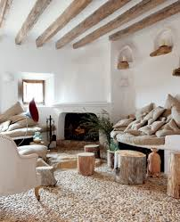 Interior:Rustic Mediterranean Interior Design With Antique Brown Sofa Rustic  Mediterranean Interior Design Living Room