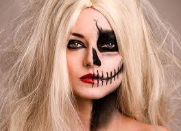 skull makeup tutorial how to image 7